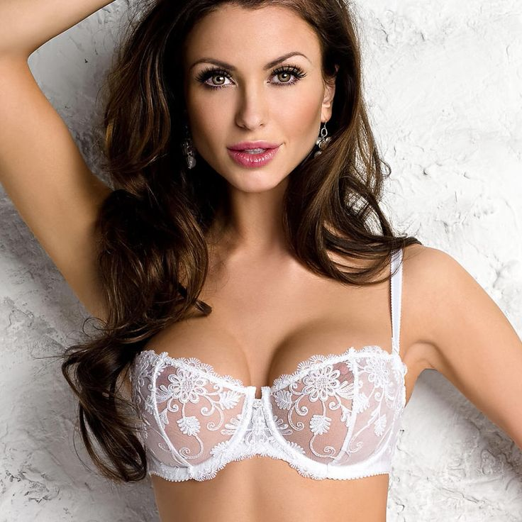 White Sheer Bras now available in US stores