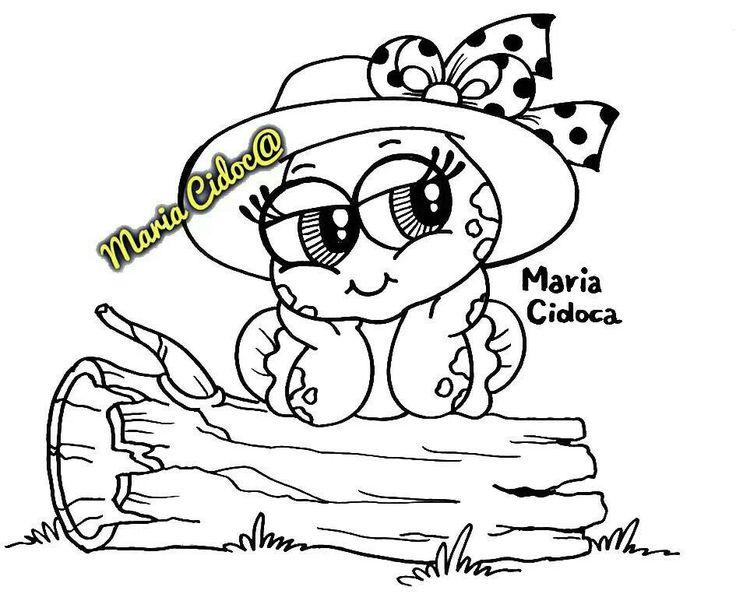 Pin Do A Mariana Matias Em Desenhos Para Pintar: Imagens Sapinhos