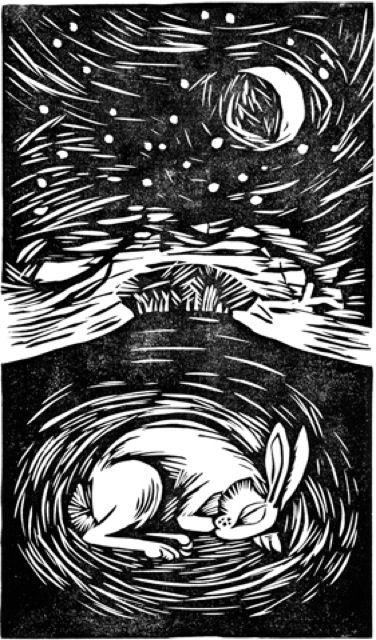 Celia Hart - sleeping hare