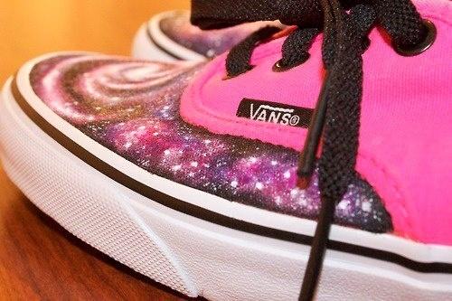 galaxy vans. ♡