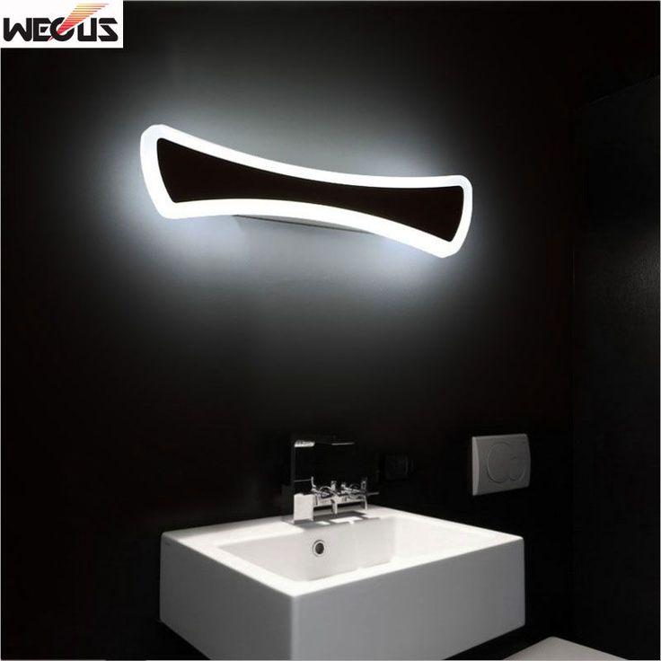 Modern bathroom / toilet LED mirror lights, bathroom acrylic mirror lights, 40CM 12W,high quality