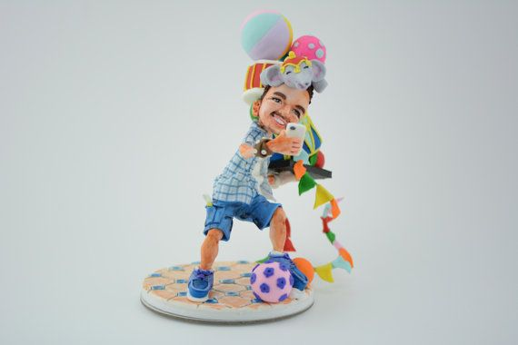 Bespoke real-life figurine by TopStories on Etsy