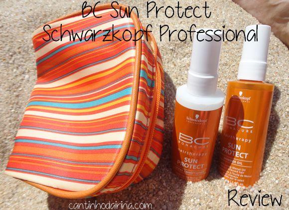 BC Sun Protect da Schwarzkopf Professional - Review