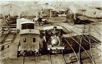 Adelaide Railway Station in 1888.