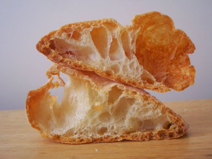 Corteza y miga: Pan de cristal