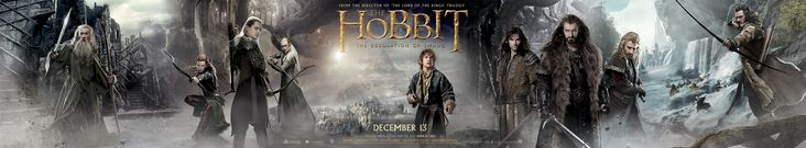New Big Ass Banner for 'The Hobbit: The Desolation of Smaug'