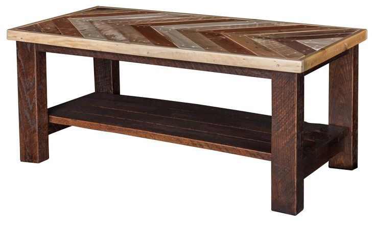 Chevron Pallet Wood Coffee Table  Looking for something a little different with a unique  design? No description needed....This is for you.