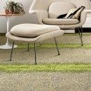 Buy Urban Nature-Flax/Grass carpet tile by FLOR