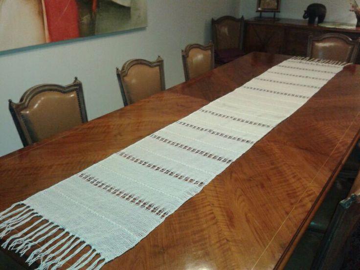 Camino de mesa, largo 1,60 largo mesa, vendida, Sold.