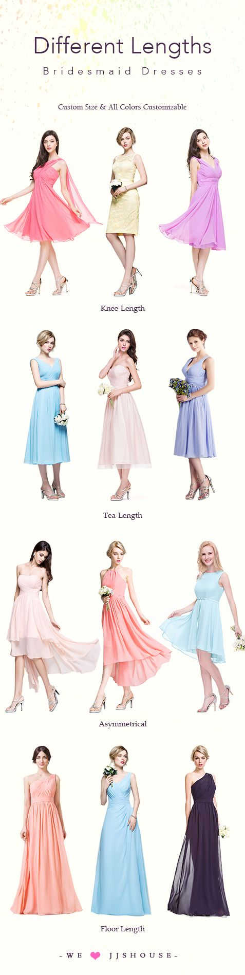The 32 best images about cocomelody promotions on pinterest different lengths bridesmaid dresses custom size all color customizable bridesmaiddresses ombrellifo Images