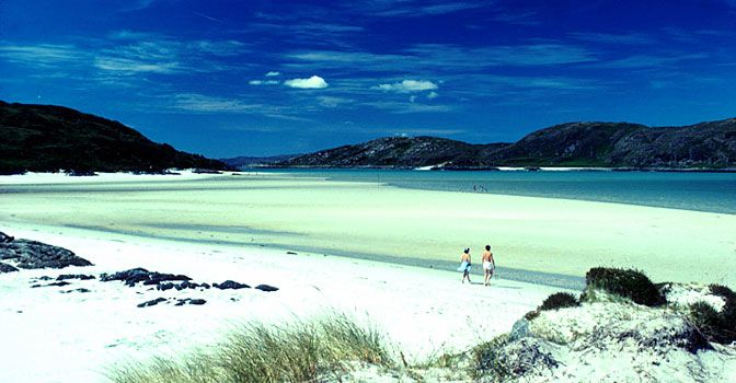 One of my favo places in Scotland. White Sands Of Morar.