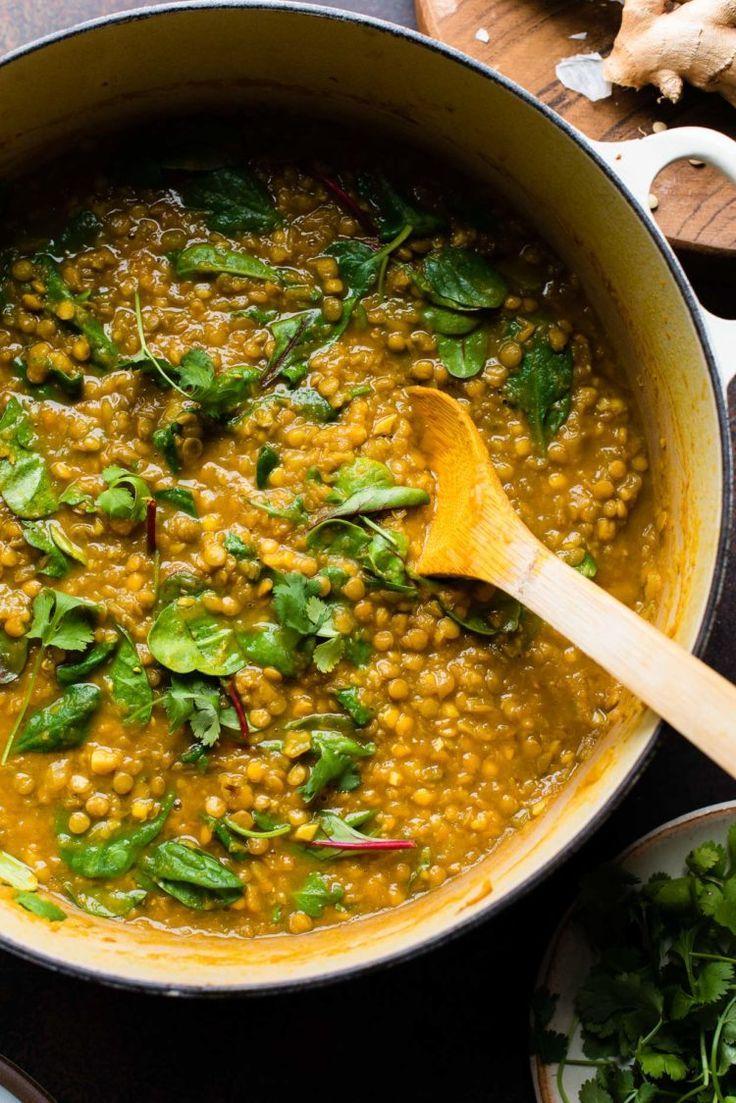 Spiced Butternut Squash Lentil Soup Vegan Kitchen Confidante Recipe Vegan Lentil Soup Soup Recipes Lentils