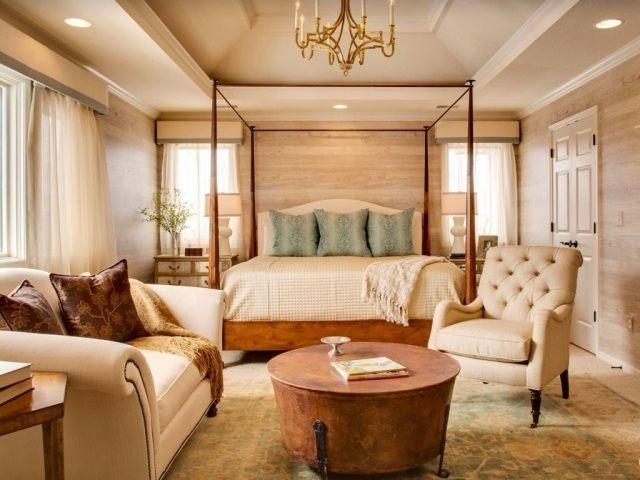 Luxus schlafzimmer mit himmelbett  Die besten 25+ Modernes klassisches schlafzimmer Ideen auf ...