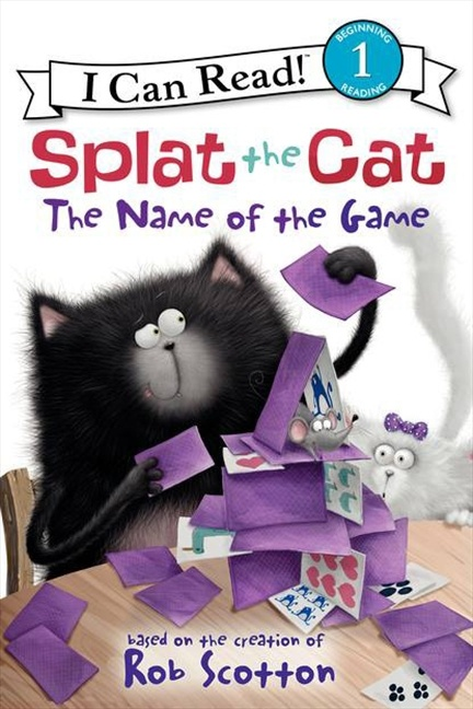 54 best splat images on pinterest kitty cats baby books and cats splat the cat the name of the game by rob scotton fandeluxe Gallery