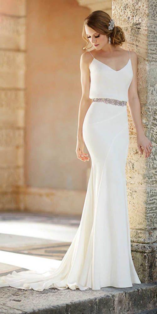 2215 best wedding dresses images on Pinterest | Short wedding gowns ...