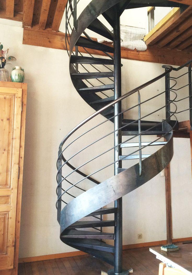 escalier en m tal en colima on pas cher lyon 2018 en. Black Bedroom Furniture Sets. Home Design Ideas