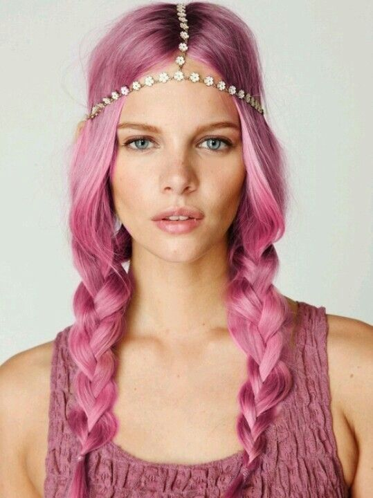 Pink Pig Tails