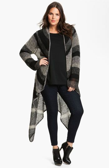 Lucky Brand Chevron Stripe Wrap (Plus) available at #Nordstrom