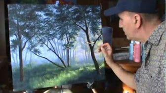 w malowaniu akrylami efekt komórek - YouTube