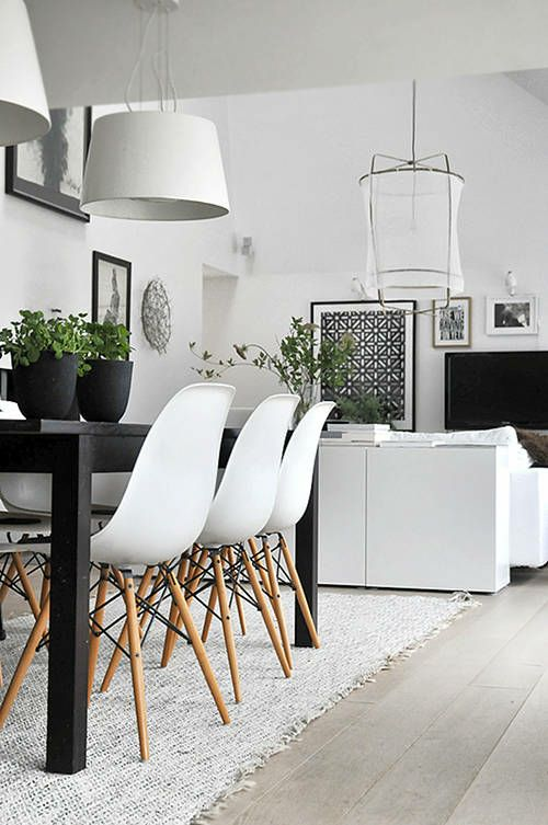 As cadeiras Charles Eames Eiffel são confortáveis e super estilosas! Inspire-se! ❤