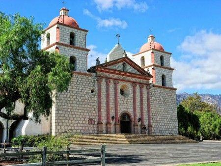 Mision Santa Barbara en California - Estados Unidos