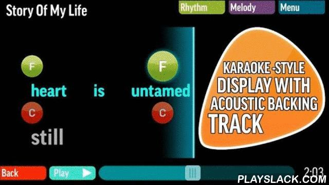 "FourChords Guitar Karaoke  Android App - playslack.com , Are you looking for an app that can help you to learn the guitar basics and new songs If you are looking for karaoke songs and learning to play the guitar… congratulations! you found FourChords Guitar Karaoke. FourChords has easy chords and lyrics with a karaoke-style display and adjustable backing track for 800+ hit songs.""I definitely recommend it."" Justin Sandercoe, JustinGuitar.com Welcome to FourChords Guitar Karaoke…the fastest…"
