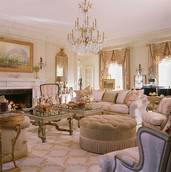 Traditional Interior Design By Ownby: 1000+ Ideas About Sophisticated Living Rooms On Pinterest