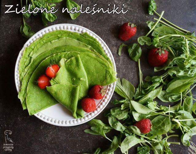 Kulinarne przygody Gatity: Szpinakowe naleśniki