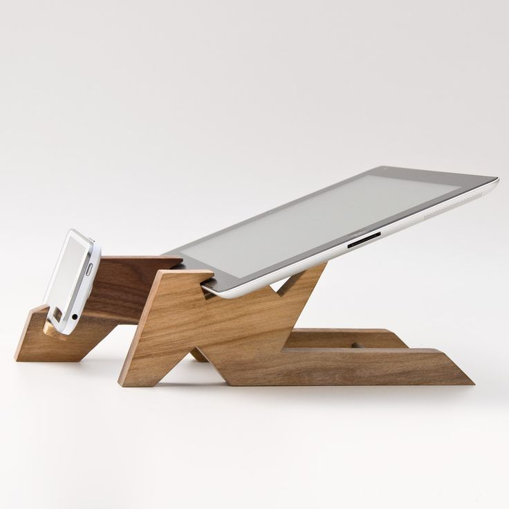 Dual Dock Station / iPad Stand / iPhone Stand ALTAIR