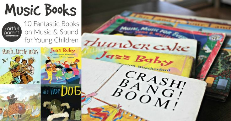 These 10 music books for young children are a fantastic exploration of sound and music, rhythm and rhyme. Make story time extra fun + learn about music!