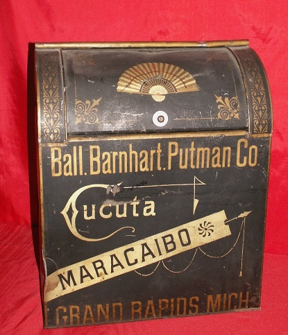 Great old Ball, Barnhart, Putnam Co. tobacco bin ~ Grand Rapids, Michigan