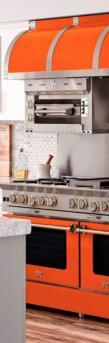 Build Your Own BlueStar range, cooktop, or oven, with all your favorite features! #kitchen #kitchendesign #kitchendecor #oven