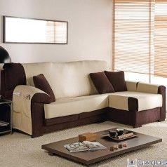 funda sofa chaise longue trigo eysa