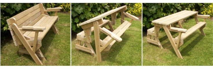 Plans picnic table bench combo woodworking projects plans Picnic table that turns into a bench