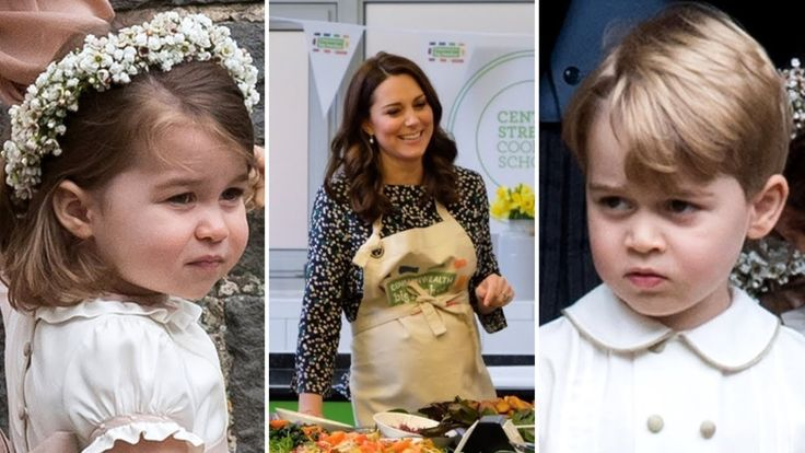 The Duchess of Cambridge reveals Prince George and Princess Charlotte lo...