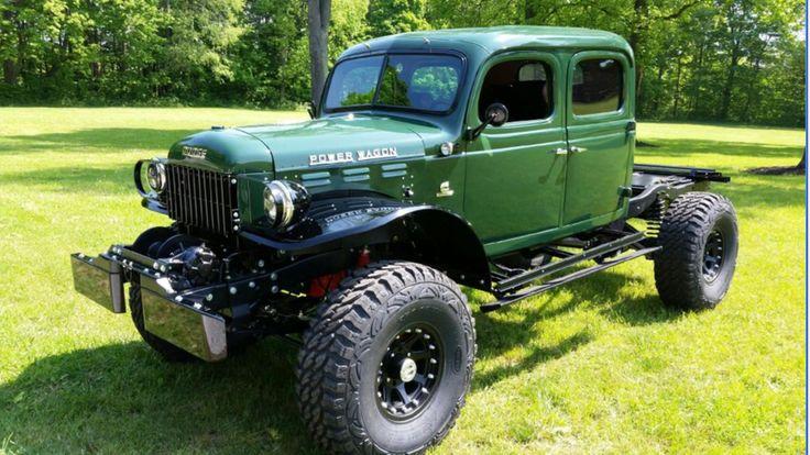 Dodge Power Wagon >> 1947 dodge power wagon - Precision power wagons | Dodge Power Wagons | Pinterest | 4x4, Dodge ...