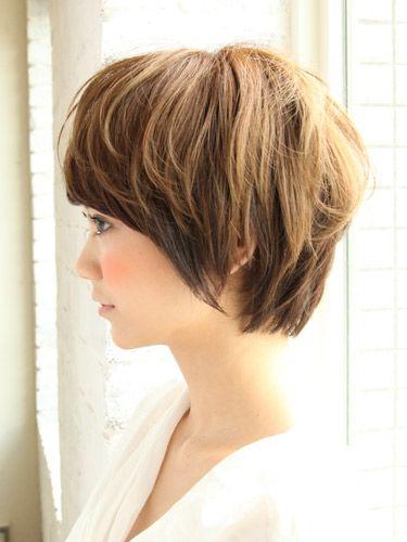 軽やかショートヘアスタイル:ショート | ビューティーBOXヘアカタログ