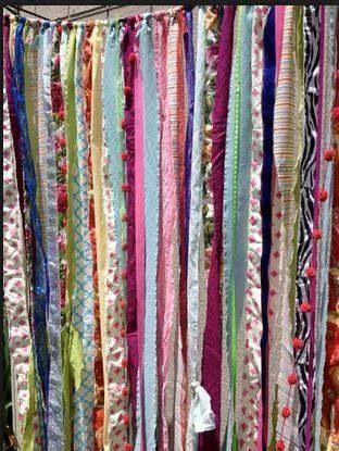 Bohemian style curtains
