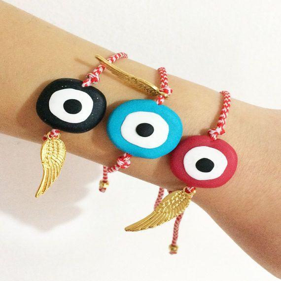 greek martakia greek jewelry evil eye bracelet by christelboutique