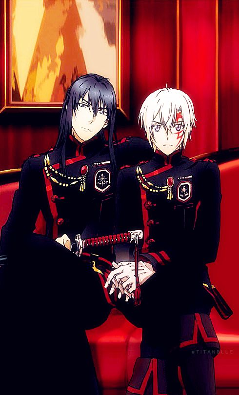 New uniforms of Black Order