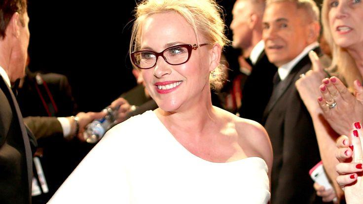 Patricia Arquette - Hello glasses :)