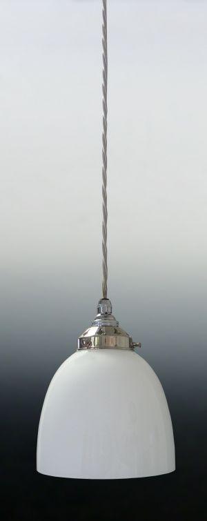 Opal Dome Complete Pendant Light 340093 150 dia x 150 john moncrieff £58.50