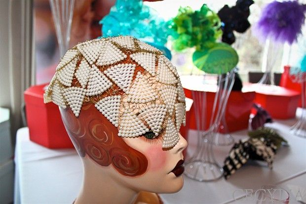 Stunning headpieces