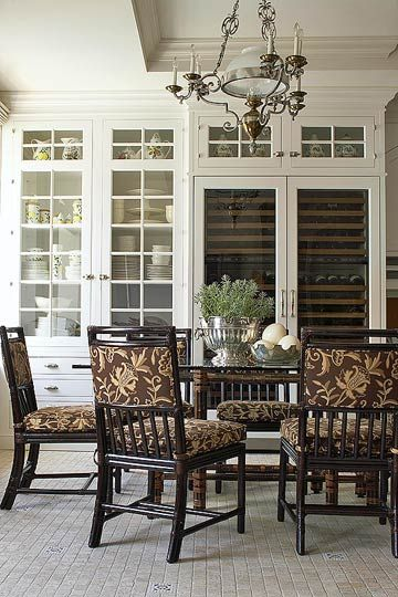 I Love This Dining Room From The Colors And Pattern On Chairs To
