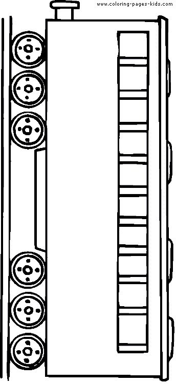 coloring pages trains transportation - photo#35