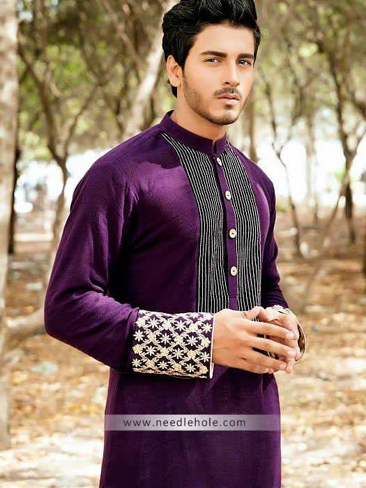 Designer aijaz aslam kurta shalwar for wedding party