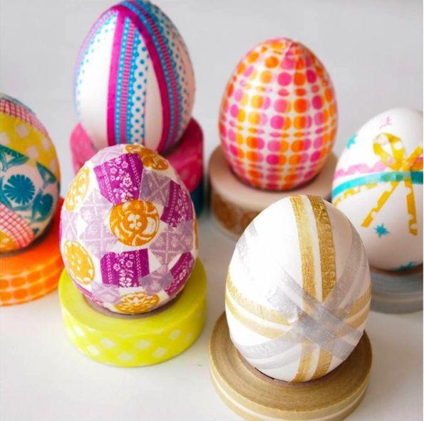 Preschool Crafts For Kids Washi Tape Easter Egg Craft