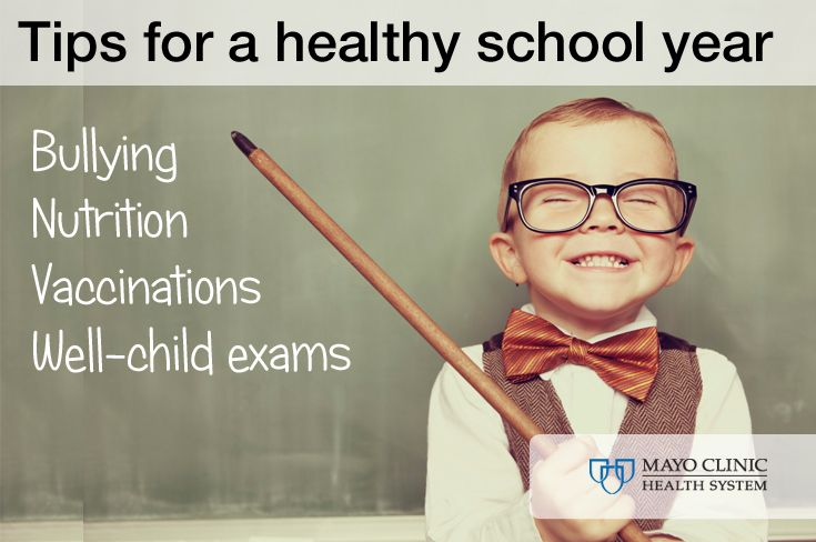 Are your kids ready to go back to school? Here are some tips for a healthy start to the school year.