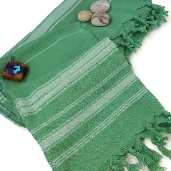 Check out this item in my Etsy shop https://www.etsy.com/listing/473113147/turkish-bath-towels-turkish-towel-green