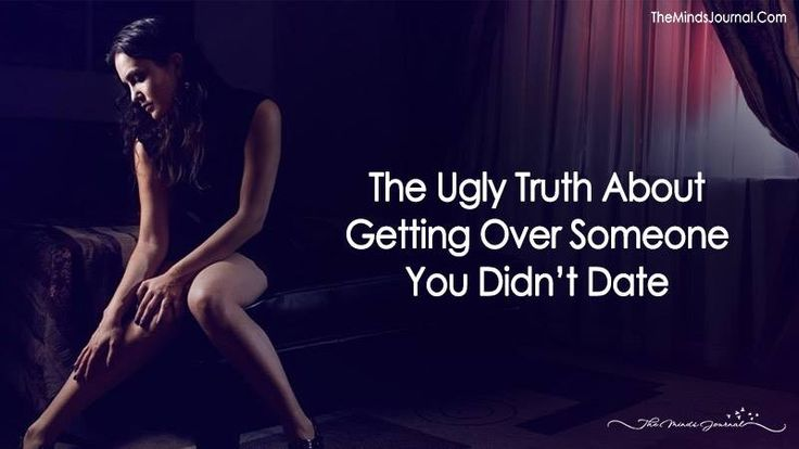 The Ugly Truth About Getting Over Someone You Didn't Date - https://themindsjournal.com/getting-over-someone-you-didnt-date/